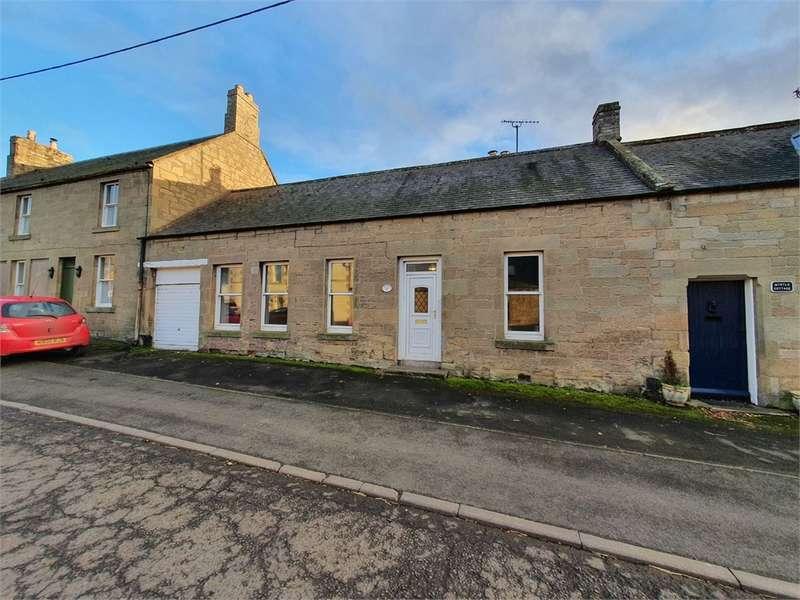 2 Bedrooms Terraced Bungalow for sale in 24 Main Street, Swinton, DUNS, Scottish Borders