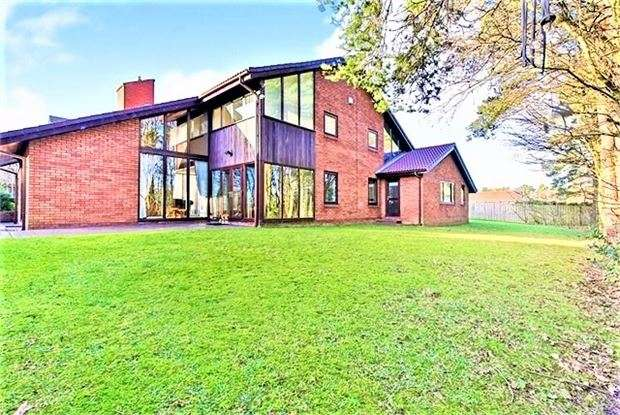6 Bedrooms Detached House for sale in Carnoustie, The Fairways, Washington, Tyne & Wear. NE37 1ND