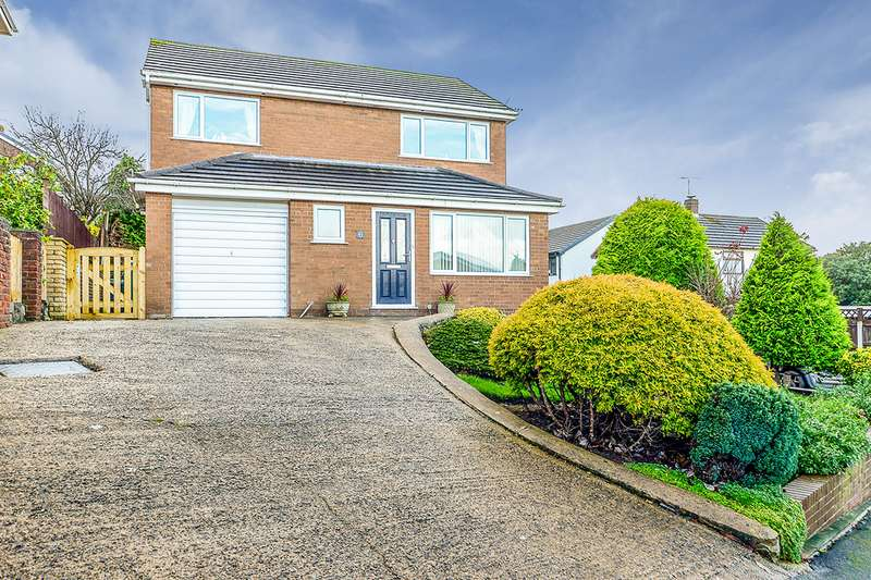 4 Bedrooms Detached House for sale in Parc Gwelfor, Dyserth, Rhyl, Denbighshire, LL18