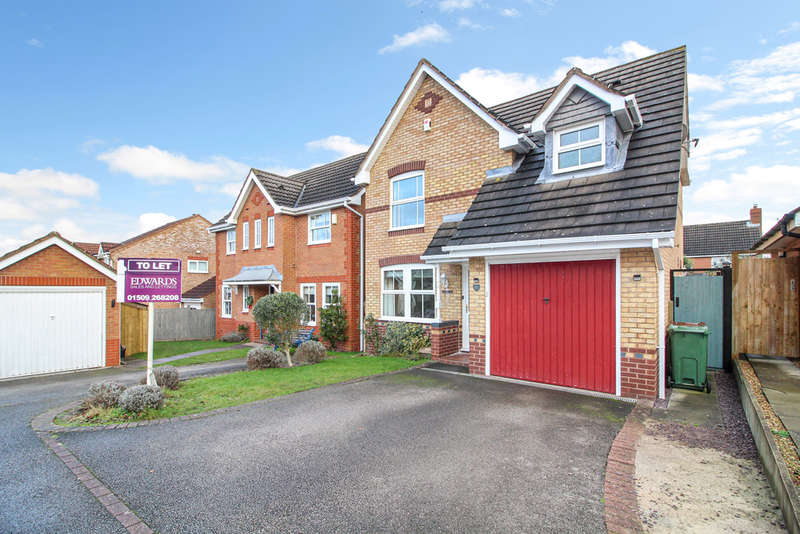 4 Bedrooms Detached House for rent in Lemontree Lane, Loughborough