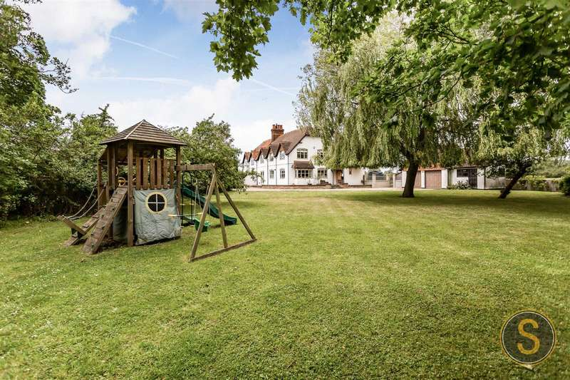 5 Bedrooms Semi Detached House for sale in White Cottage, Puttenham