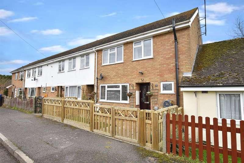 3 Bedrooms Terraced House for sale in Brookside, Alderton, TEWKESBURY, Gloucestershire, GL20