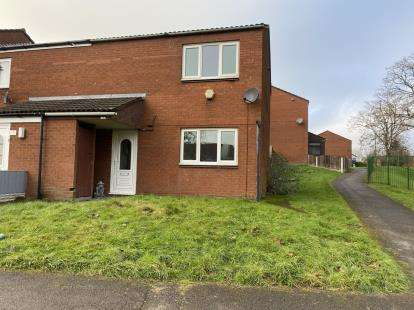 2 Bedrooms End Of Terrace House for sale in Paddington Walk, Walsall