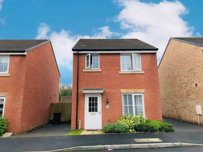 3 Bedrooms Detached House for sale in Llwybr Y Coetir, Caerphilly
