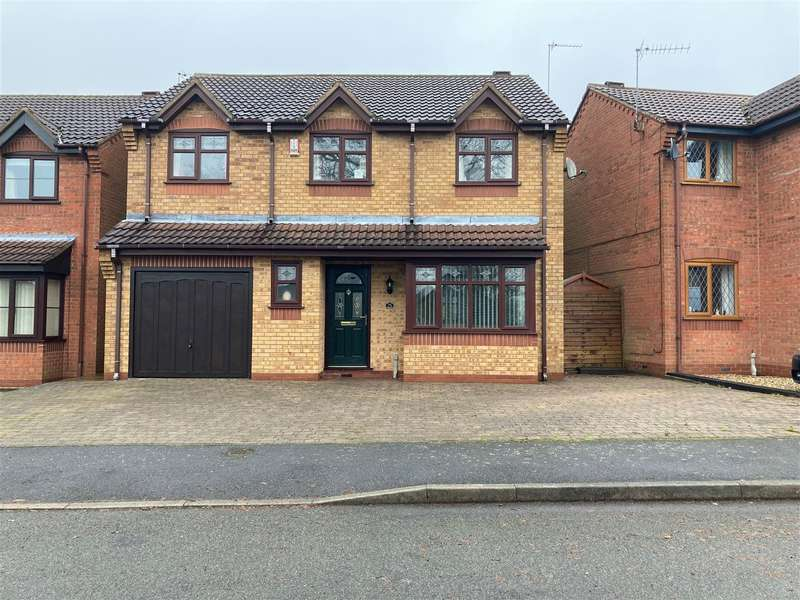 4 Bedrooms Detached House for sale in Glendon Street, Stanley Common, Ilkeston