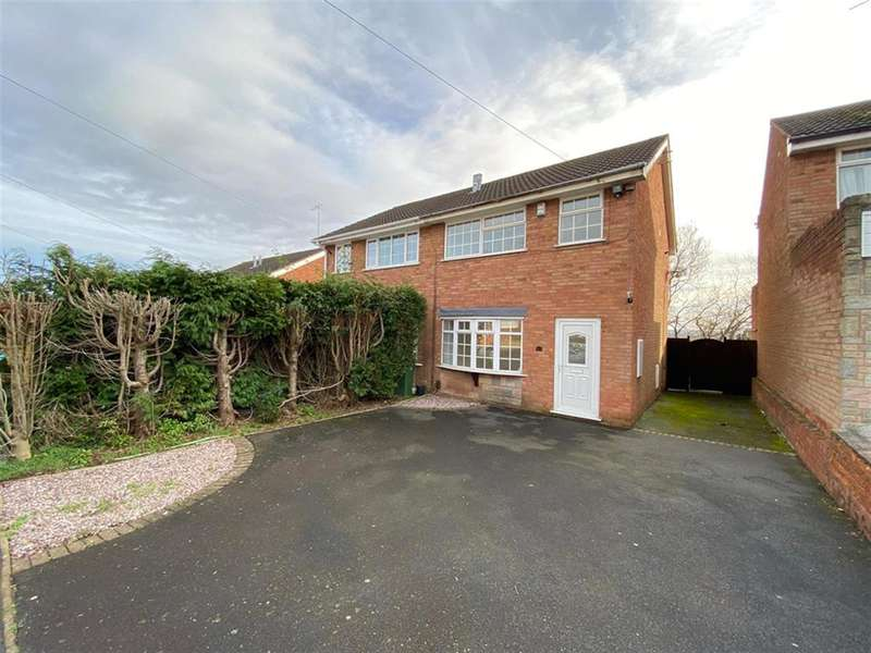 3 Bedrooms Semi Detached House for rent in Ragees Road, Kingswinford, DY6 8NQ