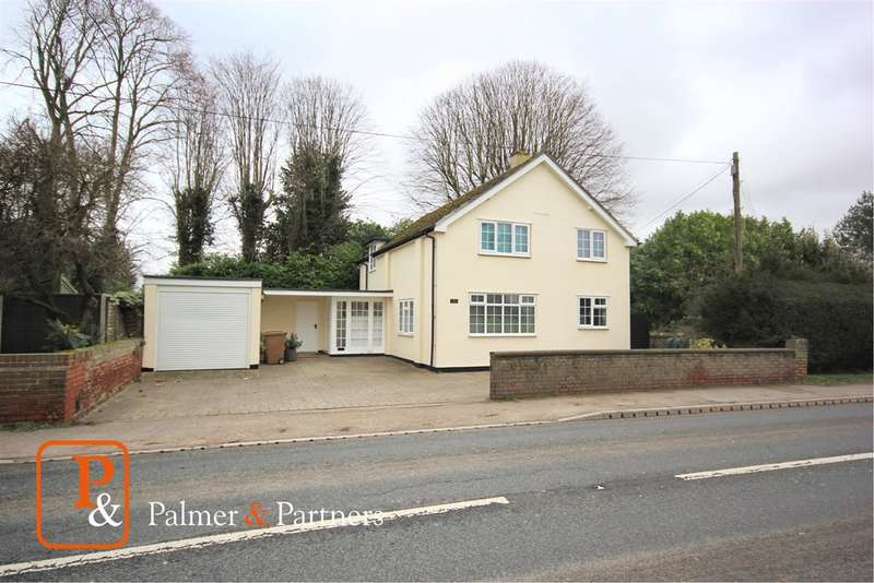 3 Bedrooms Detached House for sale in Chapel Cottage, Sudbury Road, Newton