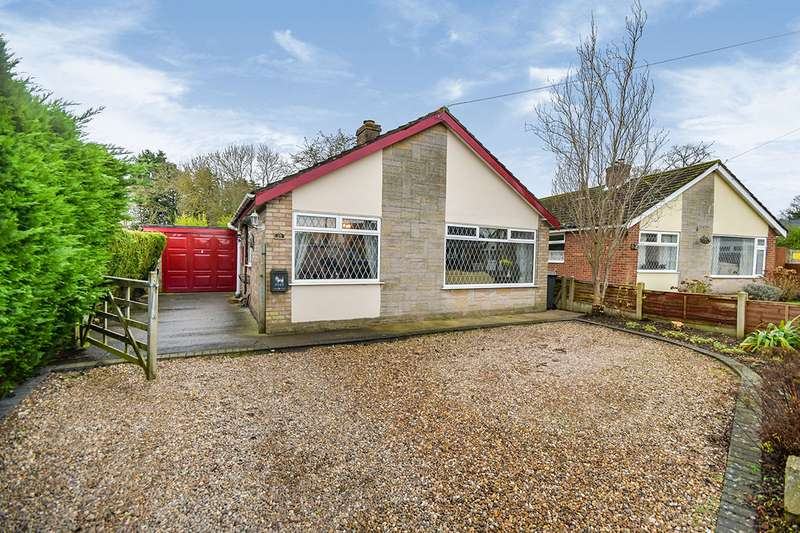 3 Bedrooms Detached Bungalow for sale in Skipwith Crescent, Metheringham, Lincoln, Lincolnshire, LN4