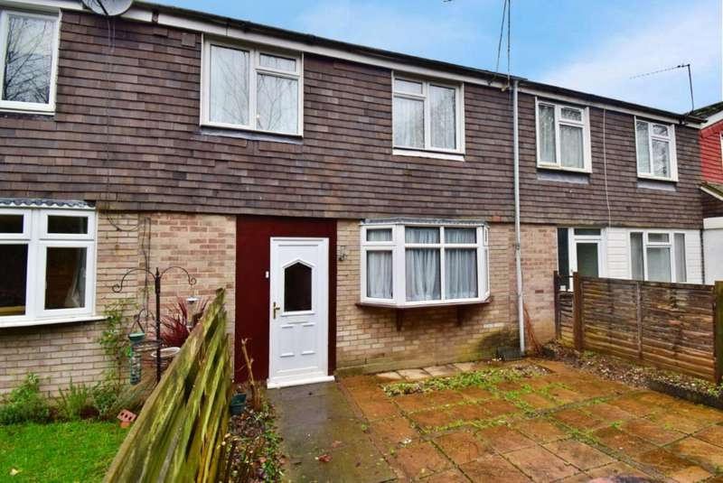 3 Bedrooms Terraced House for rent in Normanton Road, Basingstoke, Hampshire, RG21