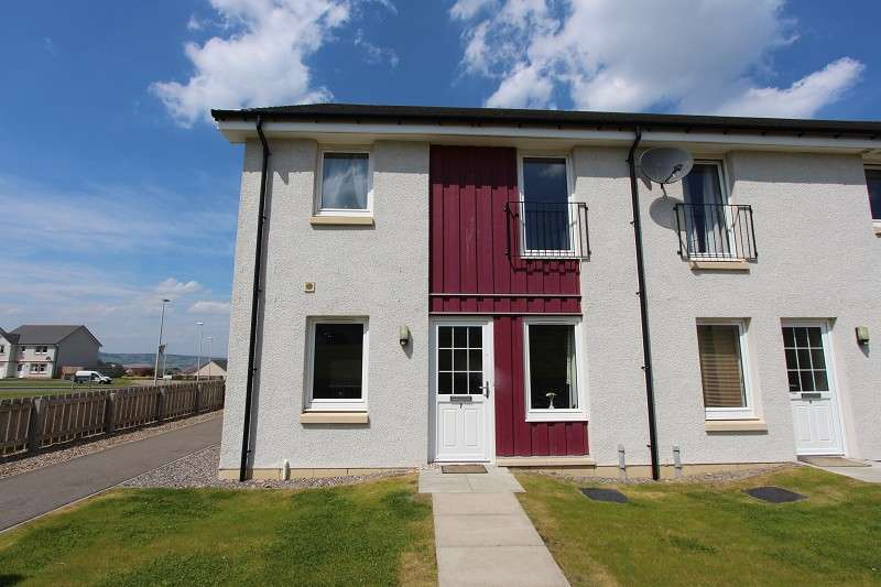 2 Bedrooms End Of Terrace House for rent in 7 Larchwood Drive, Inverness, IV2 6DG