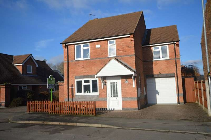 4 Bedrooms Detached House for sale in Station Street, Whetstone, Leicester, LE8