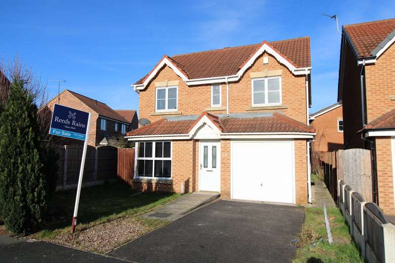 4 Bedrooms Detached House for sale in Keystone Avenue, Glasshoughton, Castleford, West Yorkshire, WF10