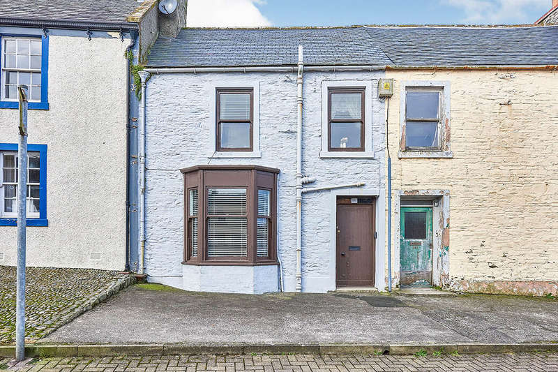 2 Bedrooms House for sale in George Street, Whithorn, Newton Stewart, Dumfries and Galloway, DG8