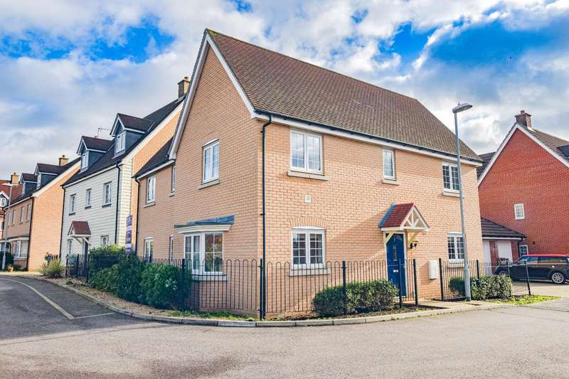 4 Bedrooms Detached House for sale in Clarke Close, Stansted