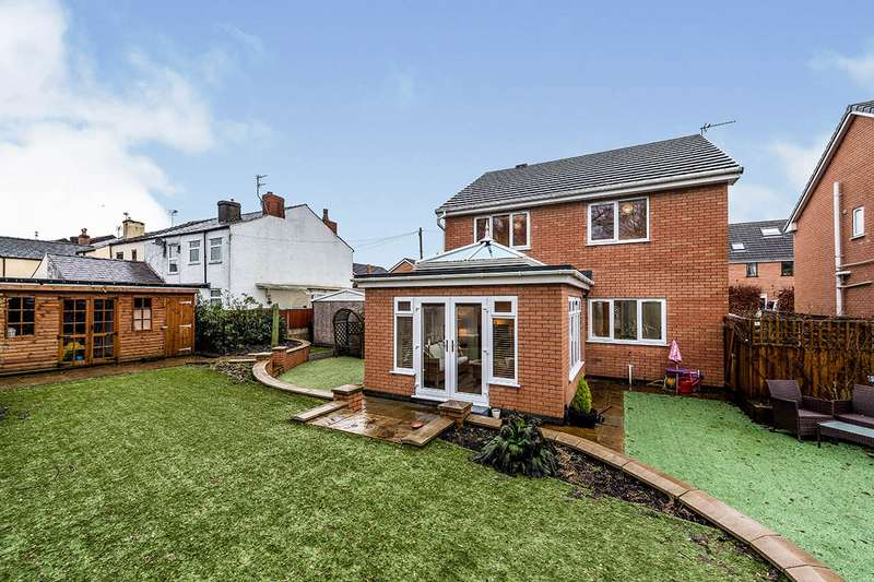 4 Bedrooms Detached House for sale in The Gardens, Derby Road, Skelmersdale, Lancashire, WN8