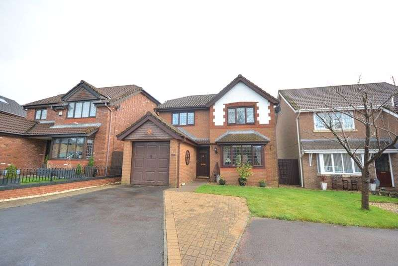 4 Bedrooms Property for sale in 17 Rowan Tree Close, Bryncoch, Neath, SA10 7SJ