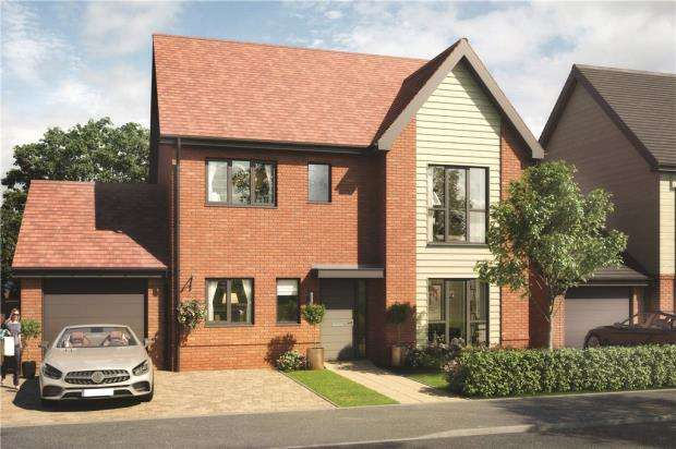 4 Bedrooms Detached House for sale in Buckler's Park, Old Wokingham Road, Crowthorne