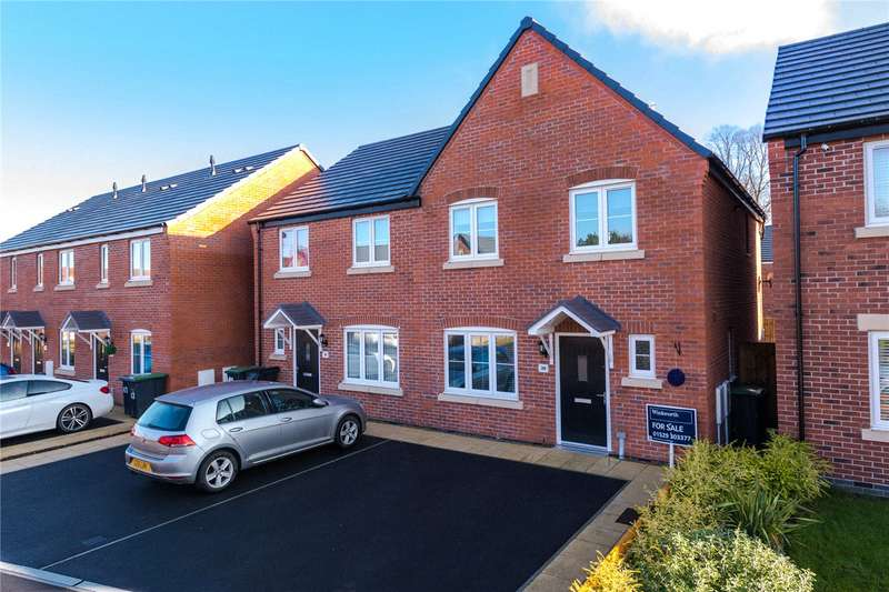 3 Bedrooms Semi Detached House for sale in Glengarry Way, Greylees, Sleaford, NG34