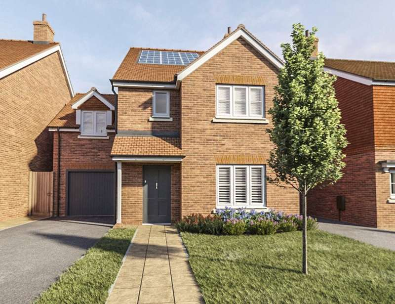 4 Bedrooms Detached House for sale in Heatherwell Place, South Lane, Ash, Surrey, GU12