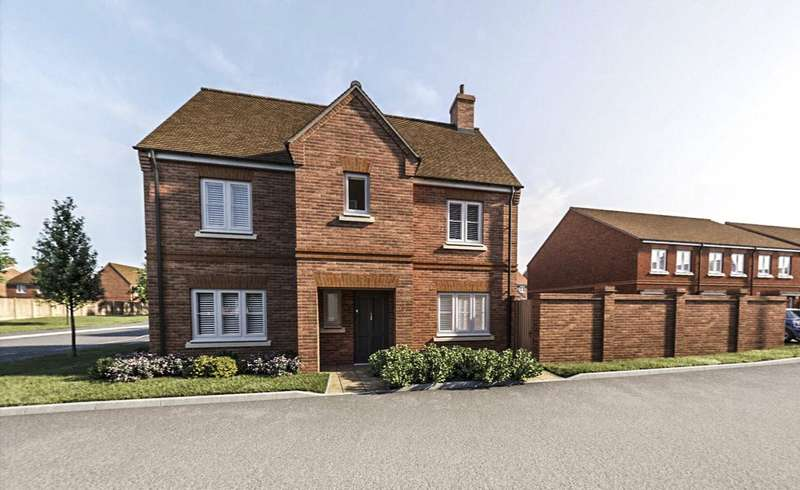 3 Bedrooms Detached House for sale in Heatherwell Place, South Lane, Ash, Surrey, GU12