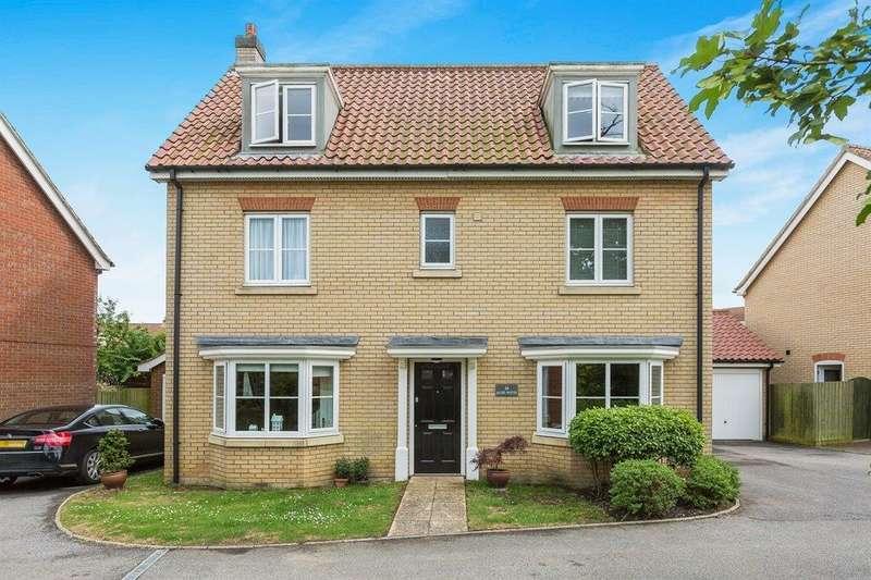 5 Bedrooms Detached House for sale in Acer Road, Rendlesham, Woodbridge