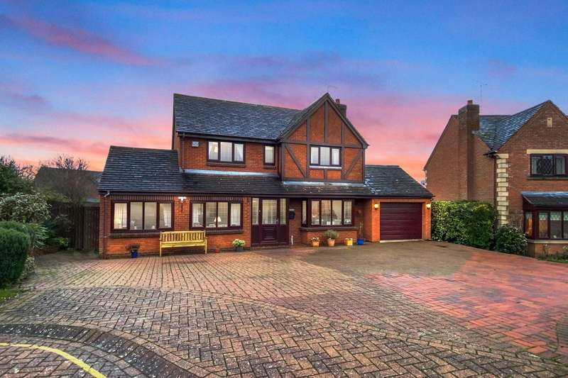 4 Bedrooms Detached House for sale in Broadwells Crescent, Westwood Heath, Coventry