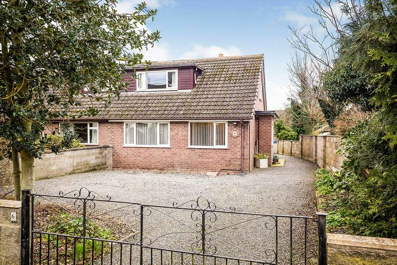 3 Bedrooms Semi Detached House for sale in School Road, Ruyton XI Towns, Shrewsbury, Shropshire, SY4