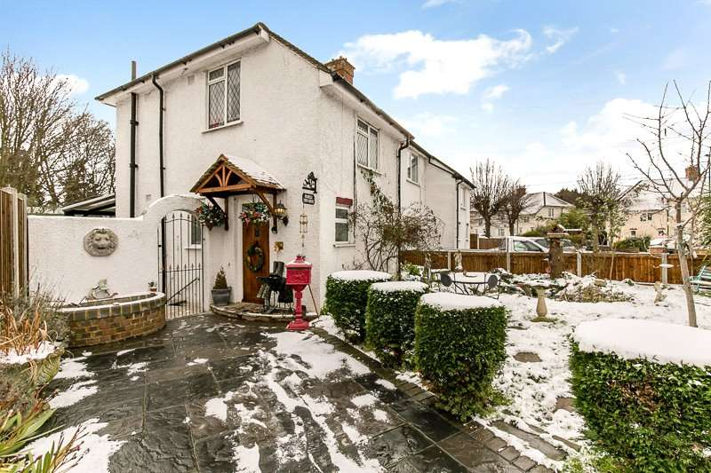 3 Bedrooms Semi Detached House for sale in Thorneloe Gardens, CROYDON, Surrey, CR0