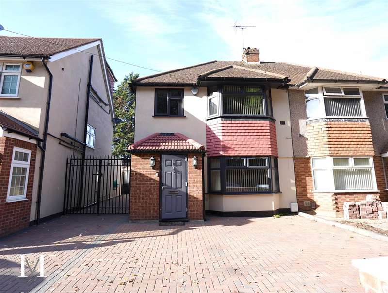 4 Bedrooms Semi Detached House for sale in Vine Close, West Drayton, UB7