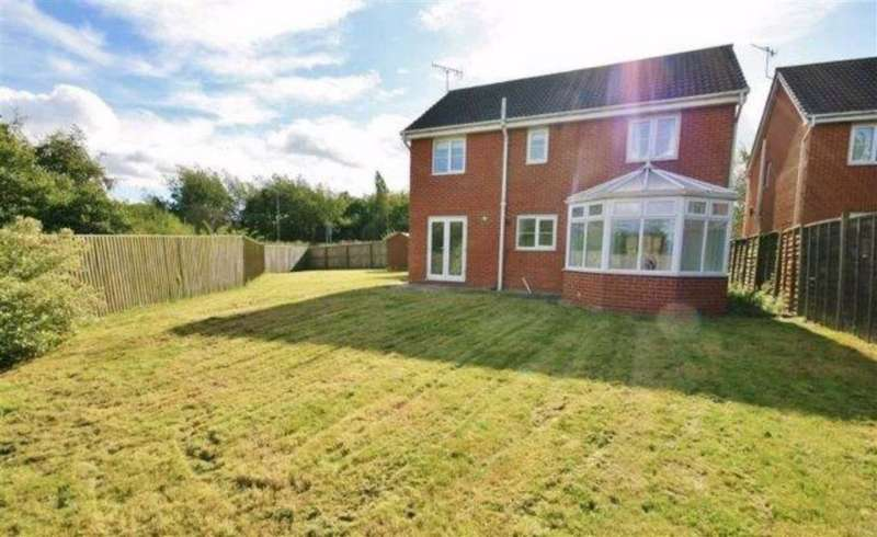 5 Bedrooms Detached House for sale in Galingale View, Newcastle