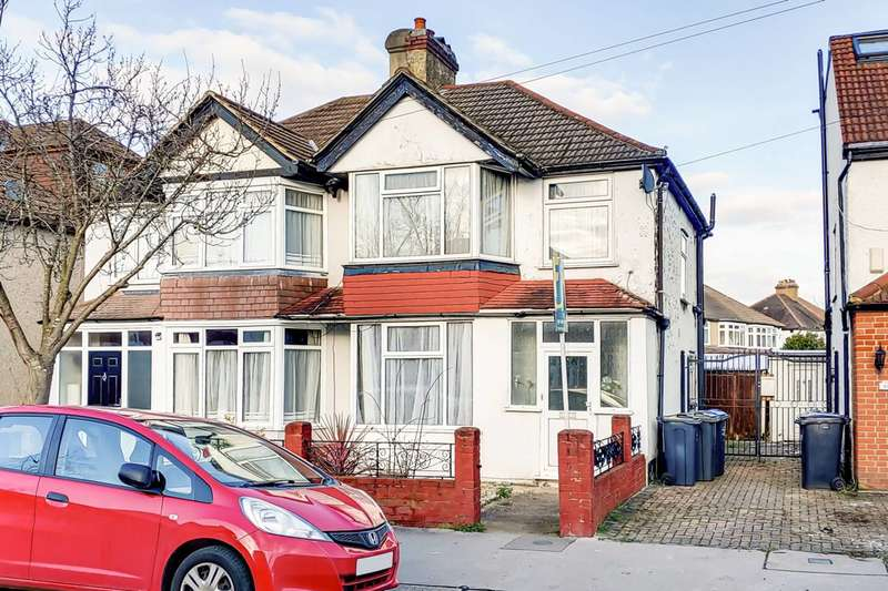 3 Bedrooms Semi Detached House for sale in Northway Road, Croydon, CR0