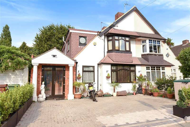 5 Bedrooms Semi Detached House for sale in Sylvia Avenue, Pinner, Middlesex, HA5