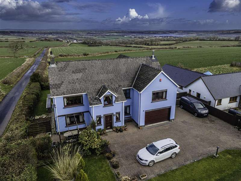 5 Bedrooms Detached House for sale in Swn-y-Gwynt, Ashdale Lane, SA62 4NU