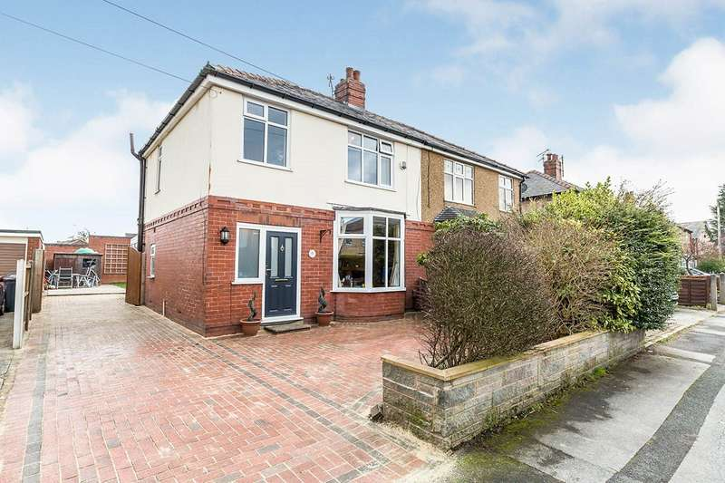 3 Bedrooms Semi Detached House for sale in Yewlands Avenue, Leyland, PR25
