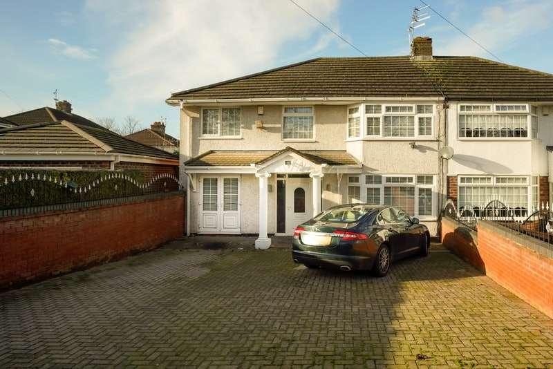 4 Bedrooms Semi Detached House for sale in Bridge Road, Liverpool, Merseyside, L36