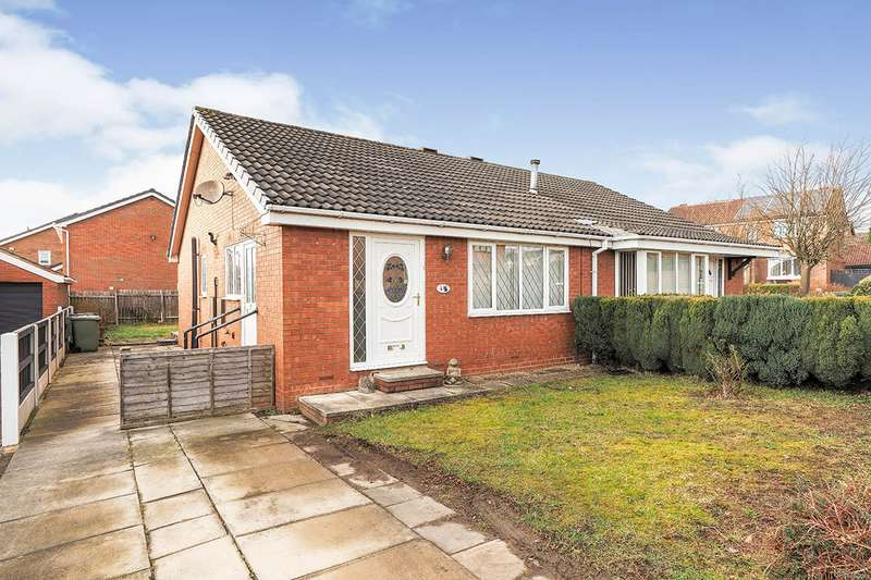 2 Bedrooms Semi Detached Bungalow for sale in Broadcroft Chase, Tingley, Wakefield, West Yorkshire, WF3