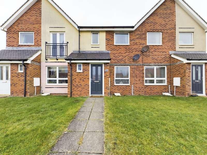 2 Bedrooms Terraced House for sale in Harrogate Court, Ashington, Northumberland, NE63