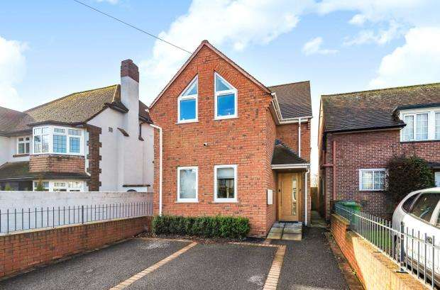 3 Bedrooms Detached House for sale in Topsham Road, Countess Wear, Exeter, Devon