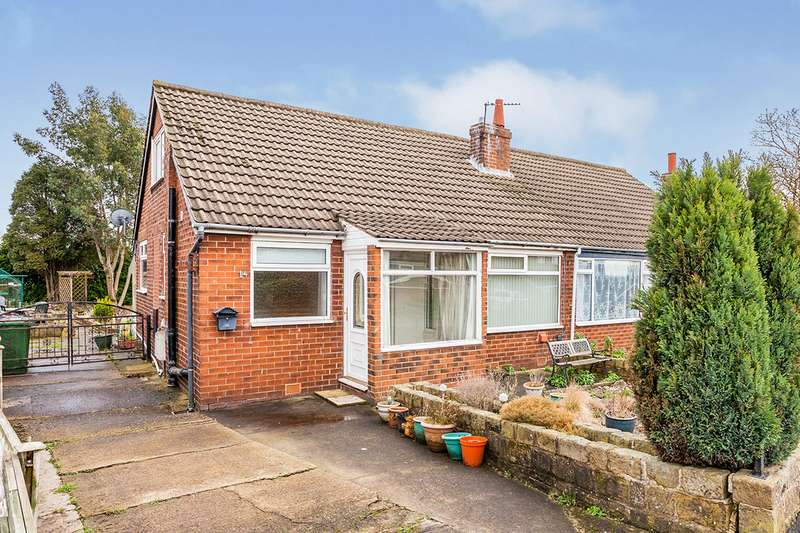3 Bedrooms Semi Detached Bungalow for sale in West Lea Crescent, Tingley, Wakefield, West Yorkshire, WF3