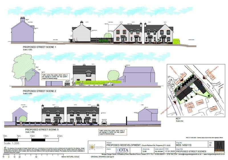 Land Commercial for sale in Anvil Road, Pimperne, Blandford Forum