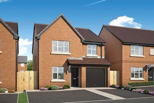 4 Bedrooms Detached House for sale in Plot 5, Skelmersdale, Lancashire, WN8
