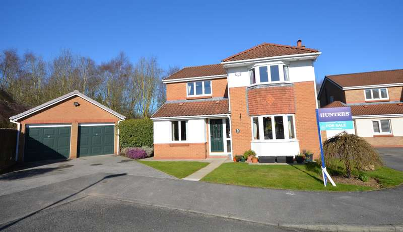 4 Bedrooms Detached House for sale in Acle Meadows, Newton Aycliffe, DL5 4XD
