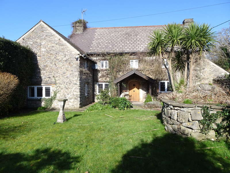 4 Bedrooms Detached House for sale in OLD WEST FARMHOUSE, WEST ROAD, NOTTAGE VILLAGE, PORTHCAWL, CF36 3SS