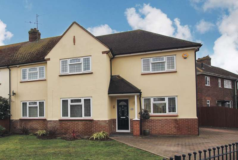 4 Bedrooms Semi Detached House for sale in Stratton Way, Biggleswade, SG18