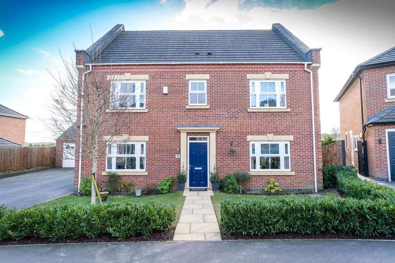 4 Bedrooms Detached House for sale in Smalley Manor Drive, Smalley, DE7