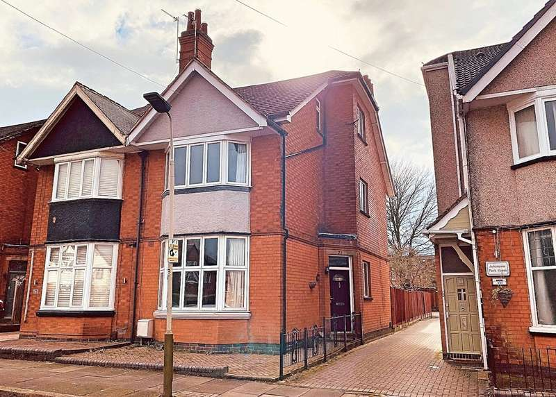 5 Bedrooms Semi Detached House for sale in Belvoir Drive, Aylestone, Leicester