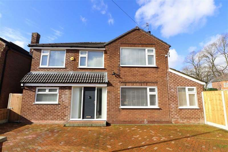 5 Bedrooms Detached House for sale in Holwood Drive, Whalley Range, Manchester, M16