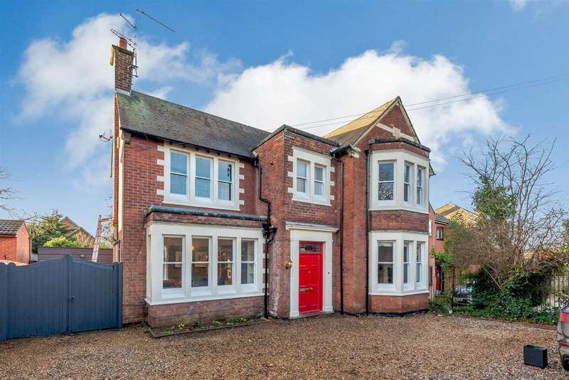 5 Bedrooms Detached House for sale in Rockingham Road, Kettering, Northamptonshire