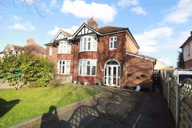 3 Bedrooms Semi Detached House for sale in Wharton Road, Winsford