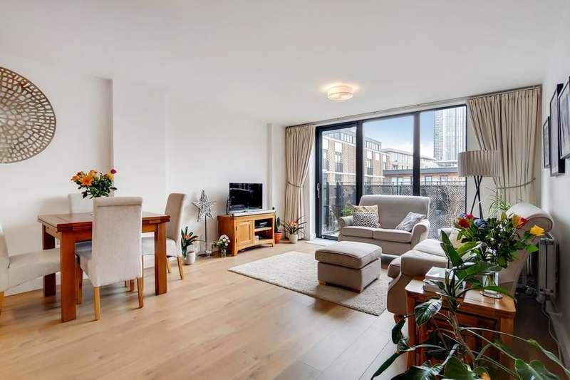 2 Bedrooms Flat for sale in Albatross Way, London SE16